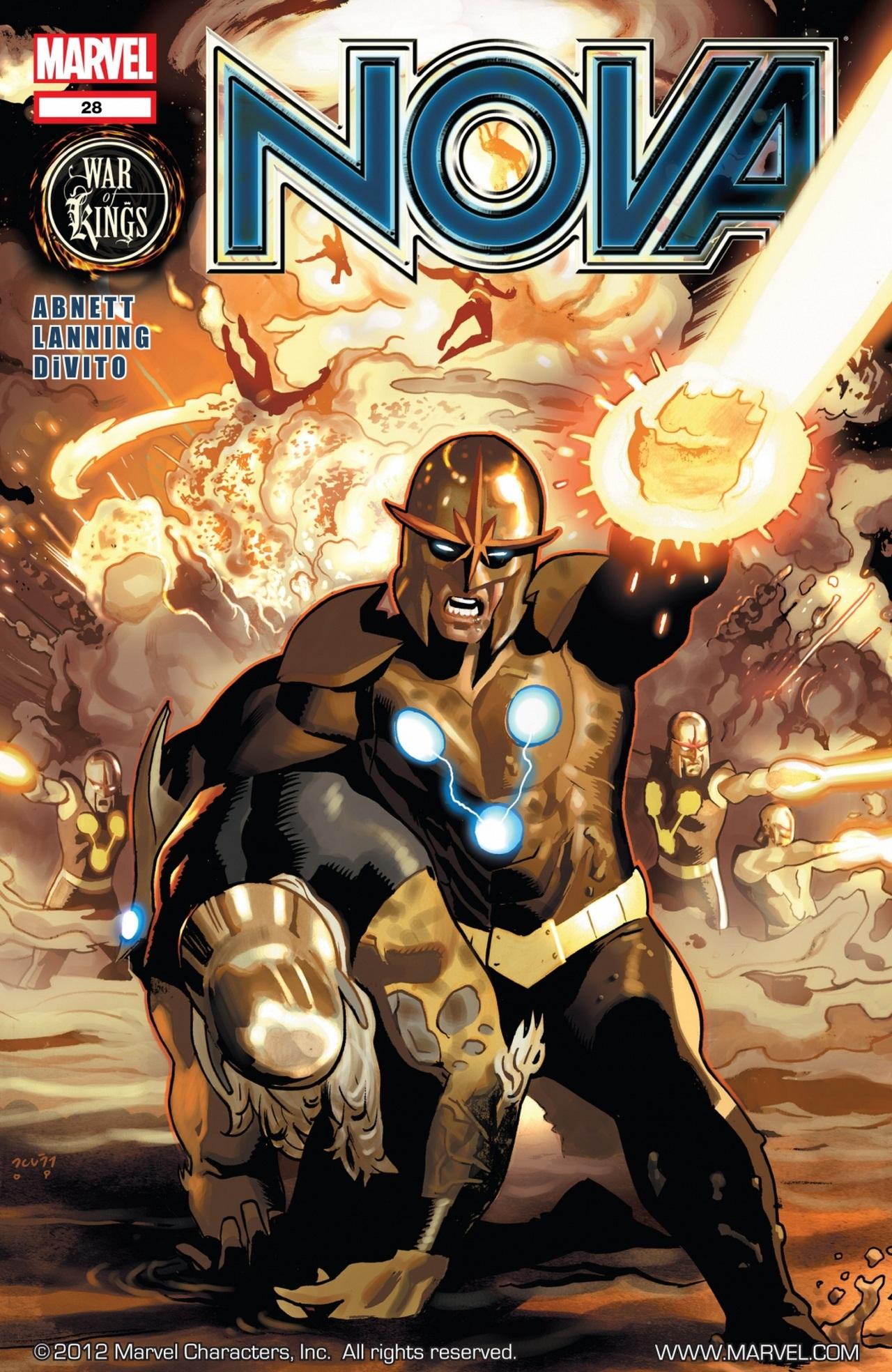 Nova (2007) issue 28 - Page 1