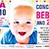 Abertas as inscrições para o Concurso Bebê do Ano!
