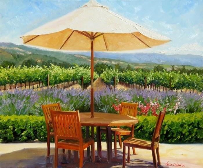 Суть современного пейзажа. Susan Hoehn