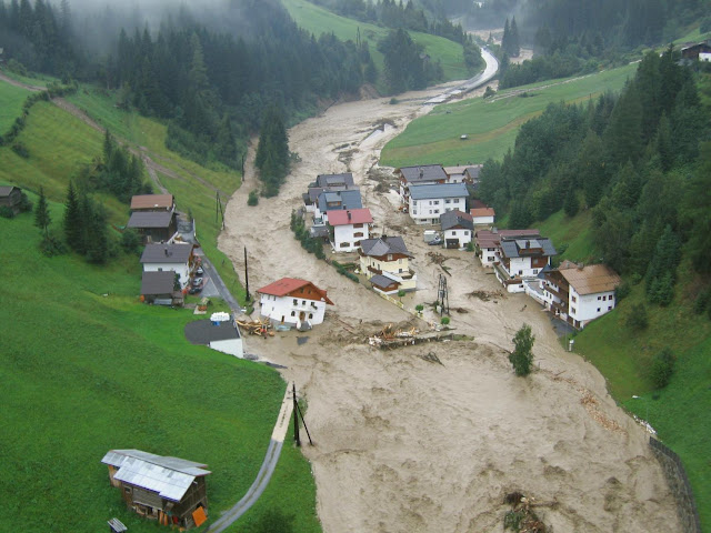Climate change shifts timing of European floods