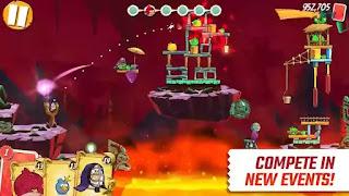 حميل لعبة انجري بيرد 2 مهكره الطيور الغاضبة ٢ Angry Birds 2 مهكرة جاهزة اخر اصدار للاندرويد