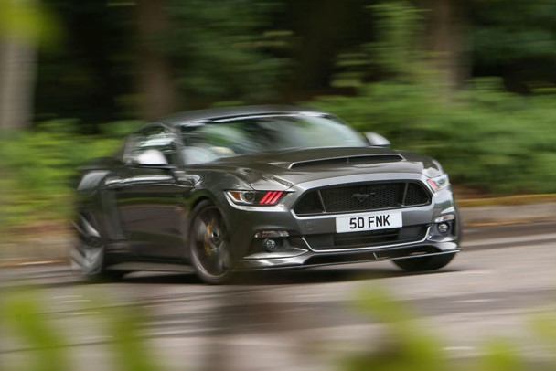 Ford Mustang Sutton CS800 TEST REVIEW