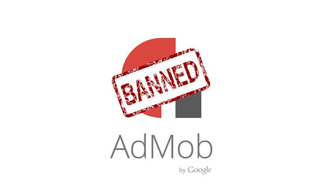 Admob tentu dikalangan para pengembang aplikasi android bukanlah suatu hal yg absurd #4 Penyebab kenapa akun admob kita dibanned atau dinonaktifkan oleh google?