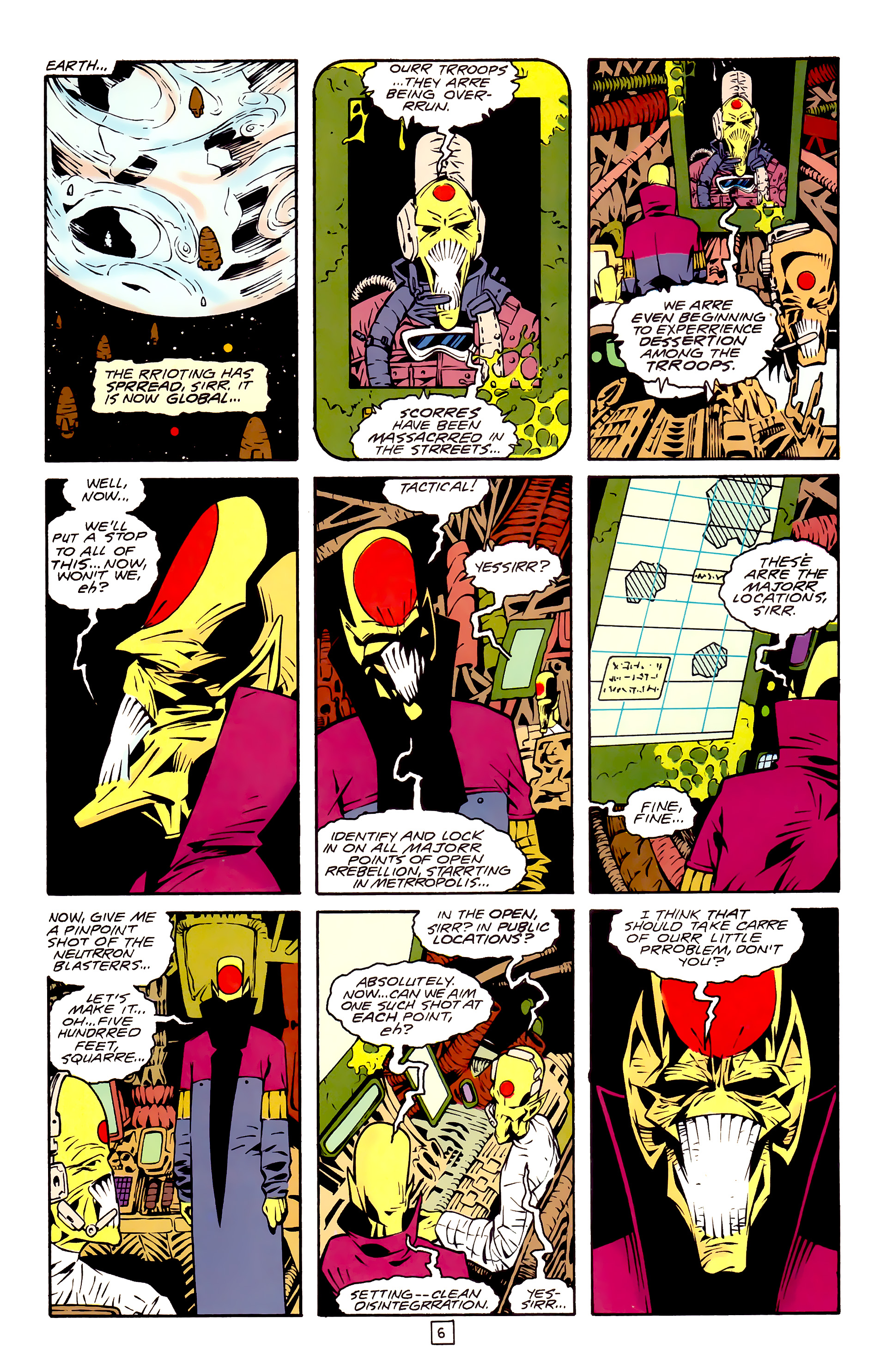 Legion of Super-Heroes (1989) 30 Page 6