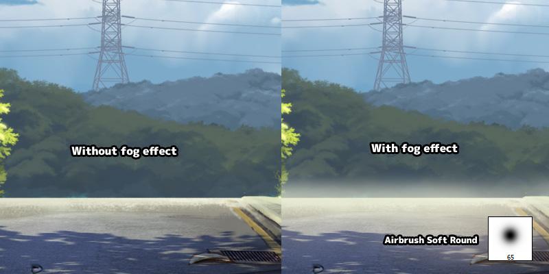 anime fog