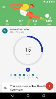 تحميل تطبيق Google Fit لمتابعة مستوى اللياقة