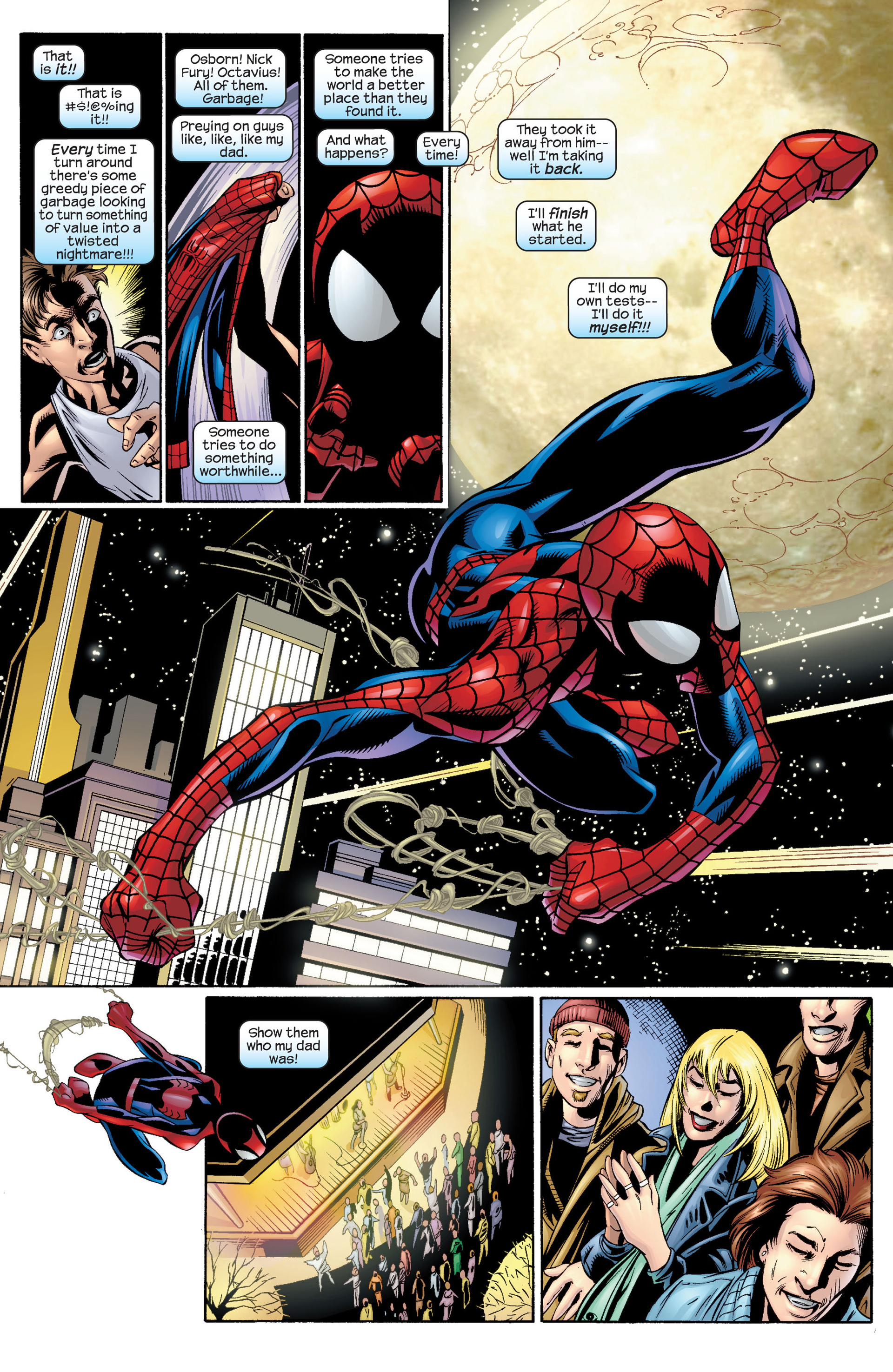 Read online Ultimate Spider-Man (2000) comic -  Issue #34 - 17
