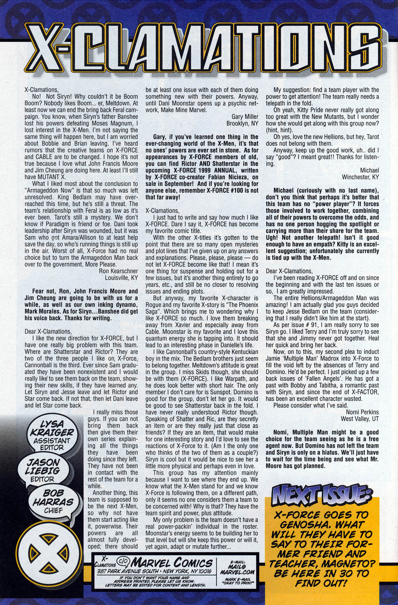 Read online X-Force (1991) comic -  Issue #93 - 34