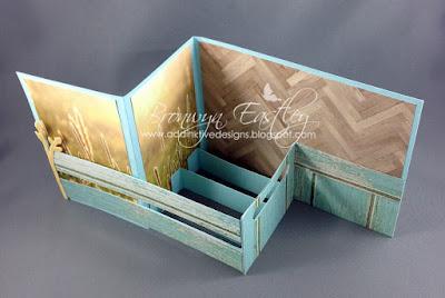 Addinktive Designs Pop Up Z Fold Card In A Box