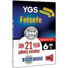 %50 Ucuzkitapal Yargı YGS Felsefe Son 21 Yılın Çıkmış Soruları 1994 - 2014