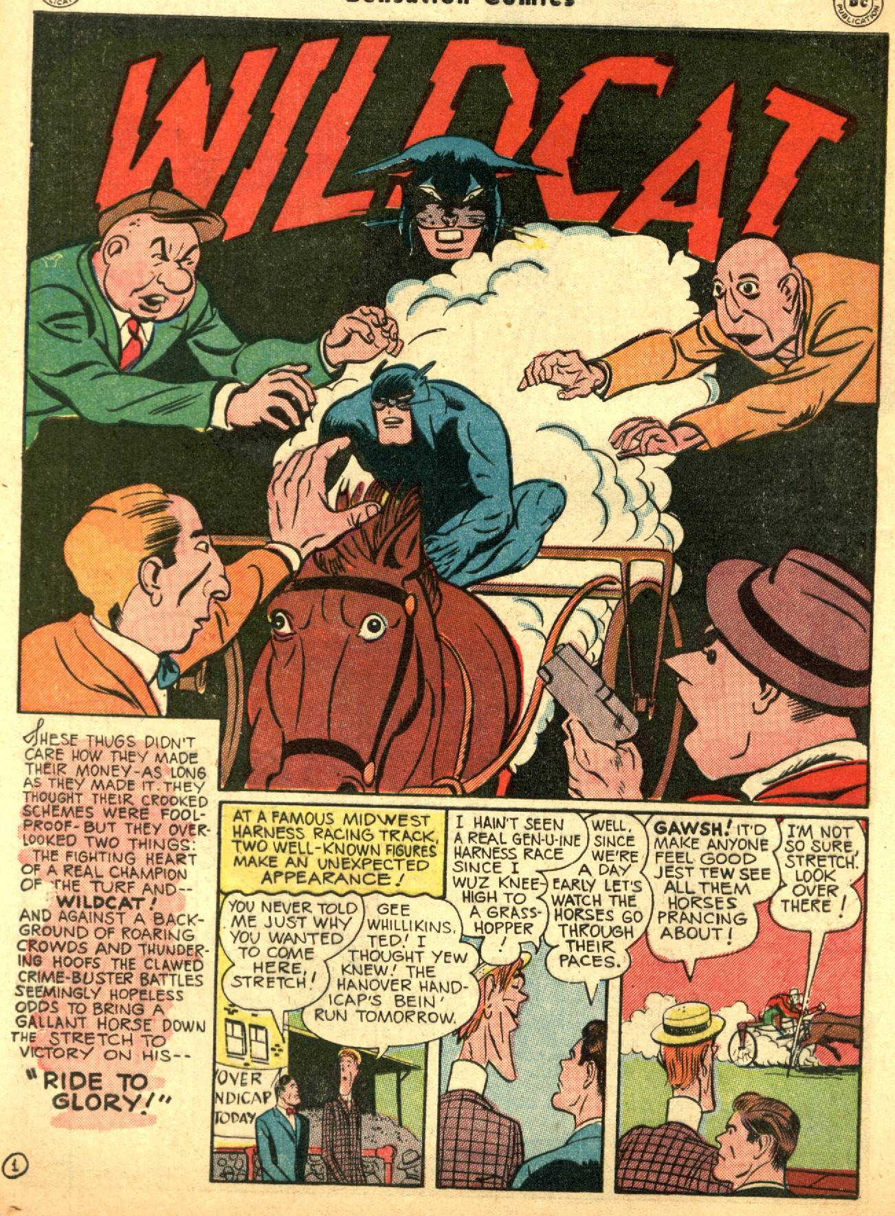 Read online Sensation (Mystery) Comics comic -  Issue #53 - 42