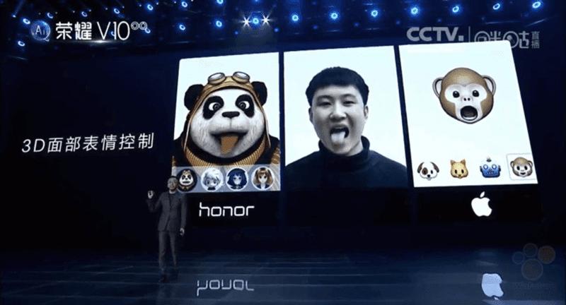 Huawei unveiled their own Animojis