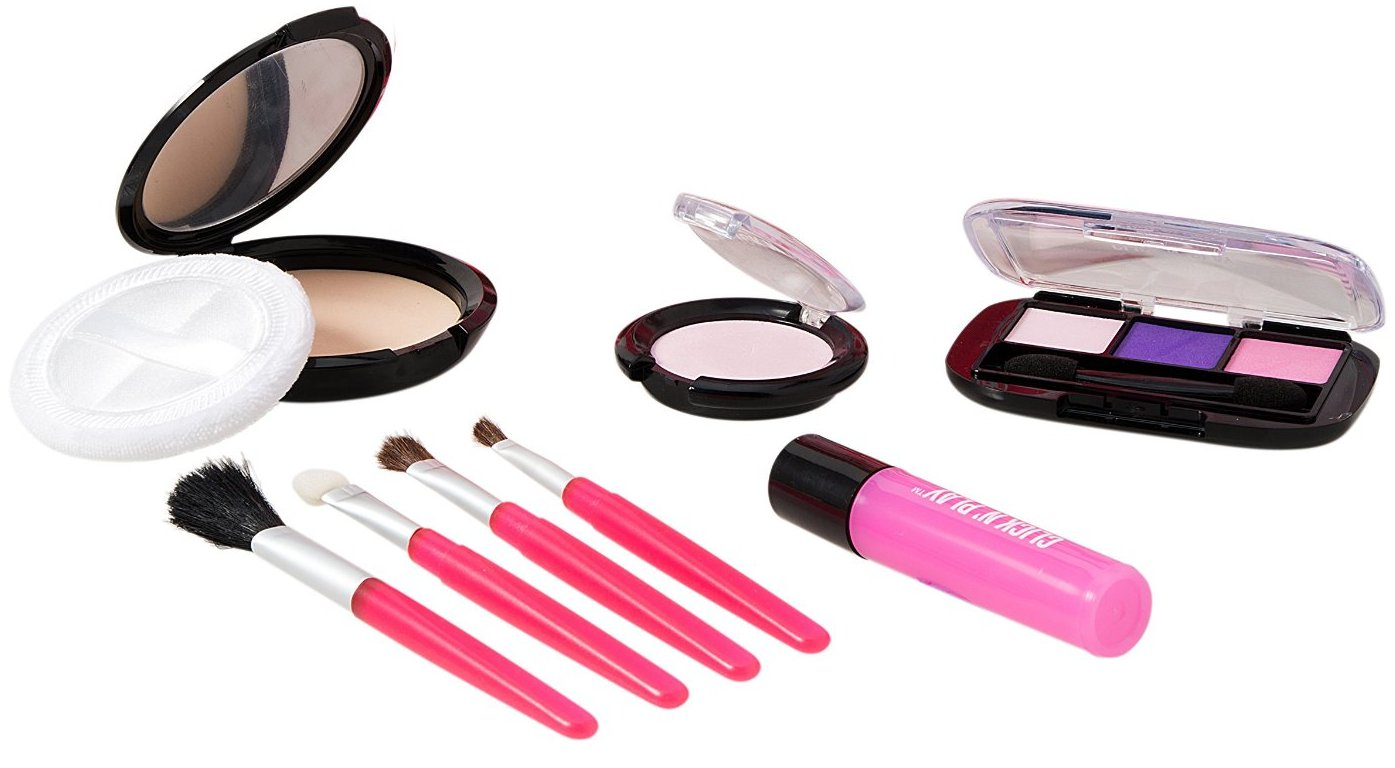 dce3719ca This makeup set is completely fake, does not apply to skin and mess free  yet feels and looks real. Keep your girl busy for hours with this cute  activity and ...