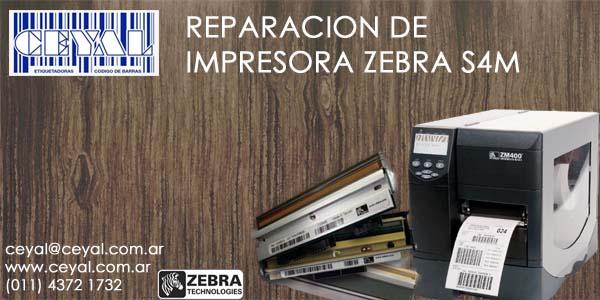 Servicio impresora de etiquetas Zebra