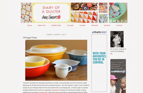 Diary of a Quilter - a quilt blog: pyrex