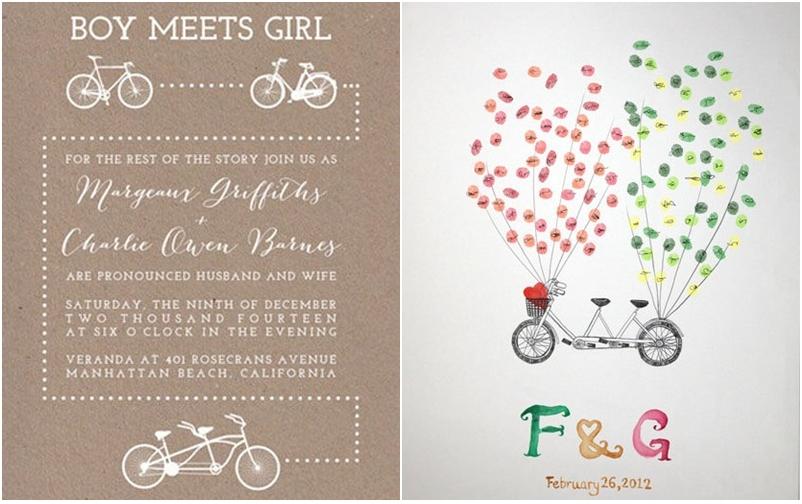 Inspiración Bicicletas para bodas