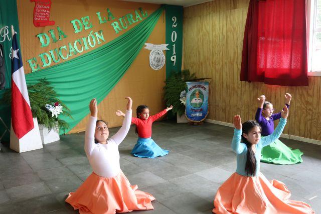 Día de la Educación Rural, Escuela de Futacuhín, Puyehue