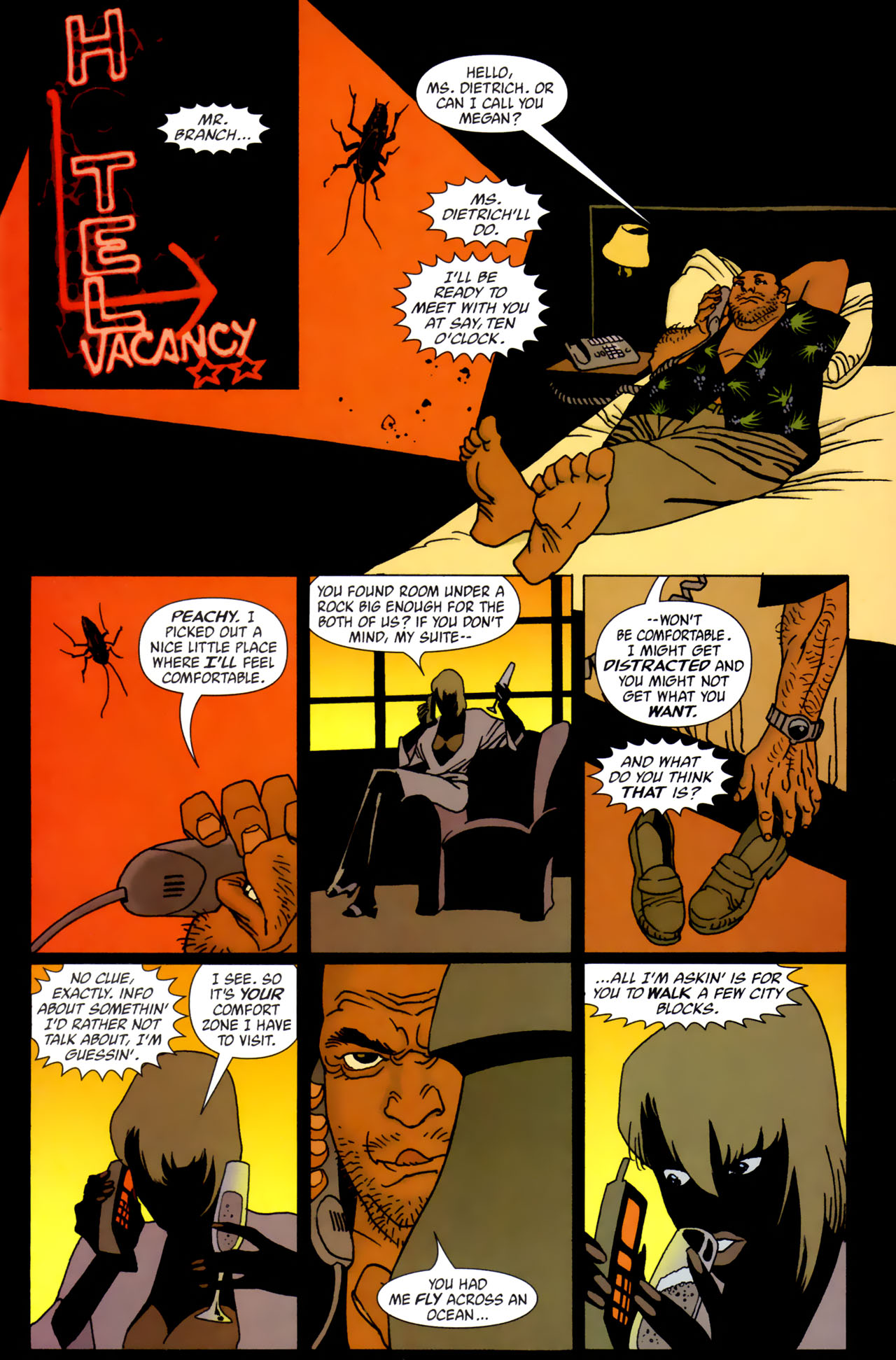 Read online 100 Bullets comic -  Issue #61 - 4