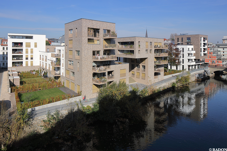 Leipzig Fluss radon photography norman radon wohnanlage nonnenstraße neue