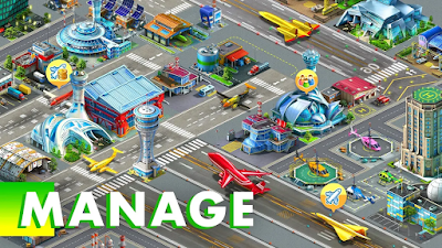 Airport City v6.13.6 [MOD Energy,Fuel,Gold] Apk Free Download