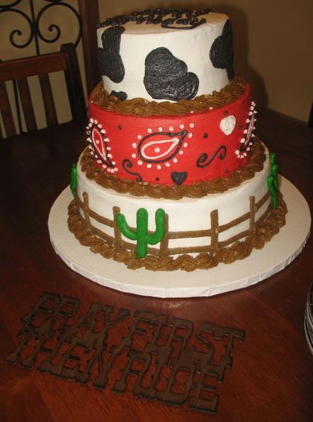 Cowgirl Birthday Cake Ideas a1z