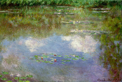 Claude Monet, Water Lilies (The Clouds), 1903