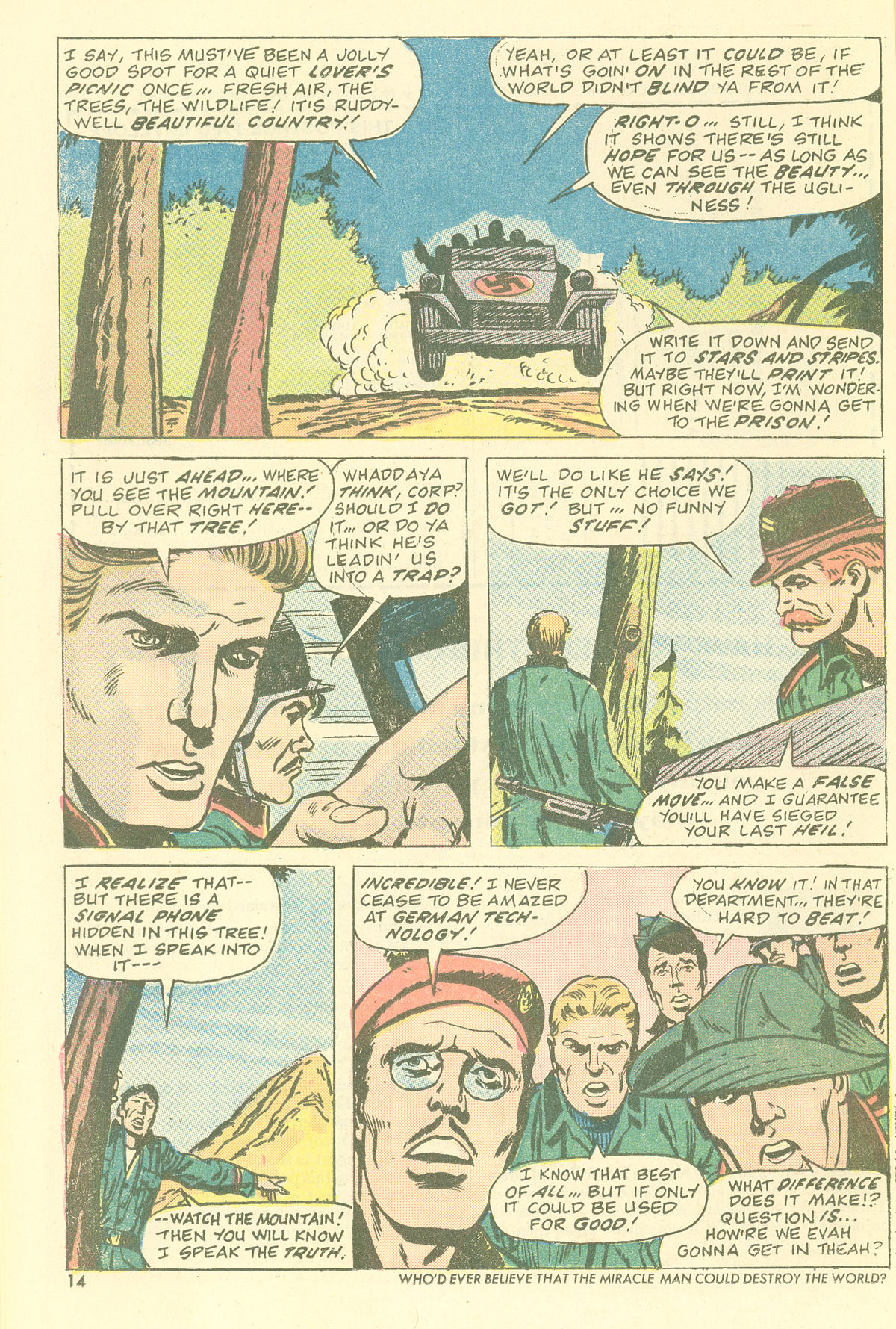 Read online Sgt. Fury comic -  Issue #115 - 16