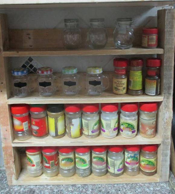 Diy Wooden Spice Rack