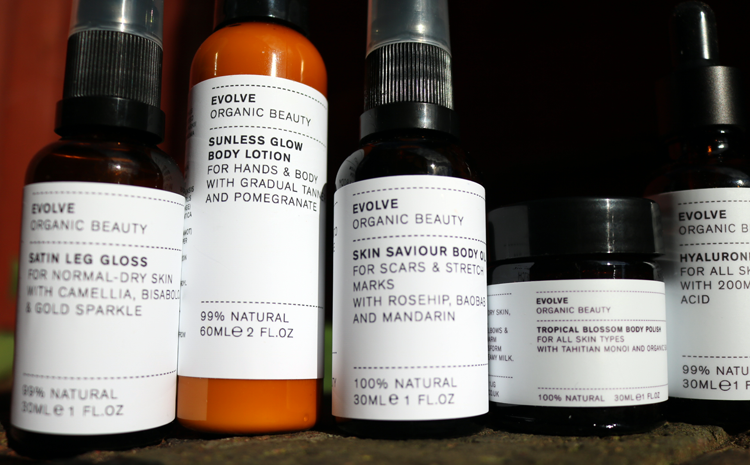Organic Beauty Week: Trying Out Evolve Beauty