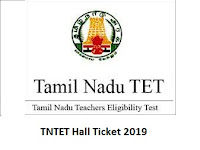 TNTET Hall Ticket