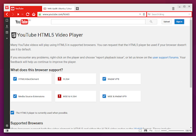 Vivaldi Browser no H.264