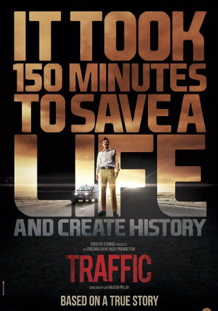 Poster of Traffic 2016 Full Hindi Movie Download Hd