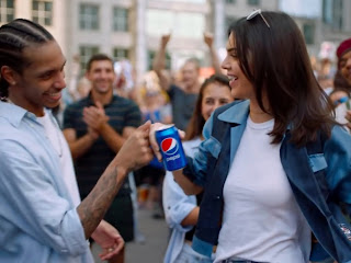 Controversial Pepsi ad from last year with Kylie Jenner