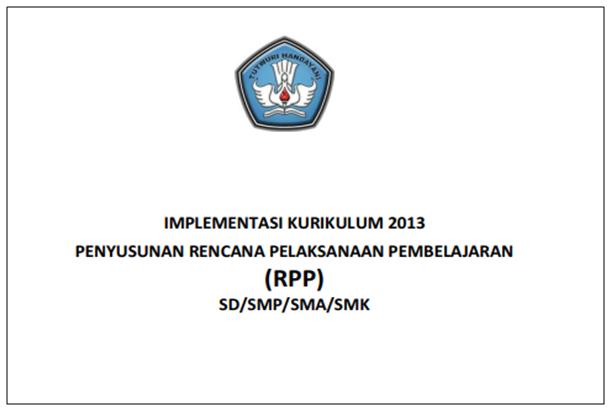 Panduan Penyusunan RPP SD SMP SMA dan SMK Kurikulum2013