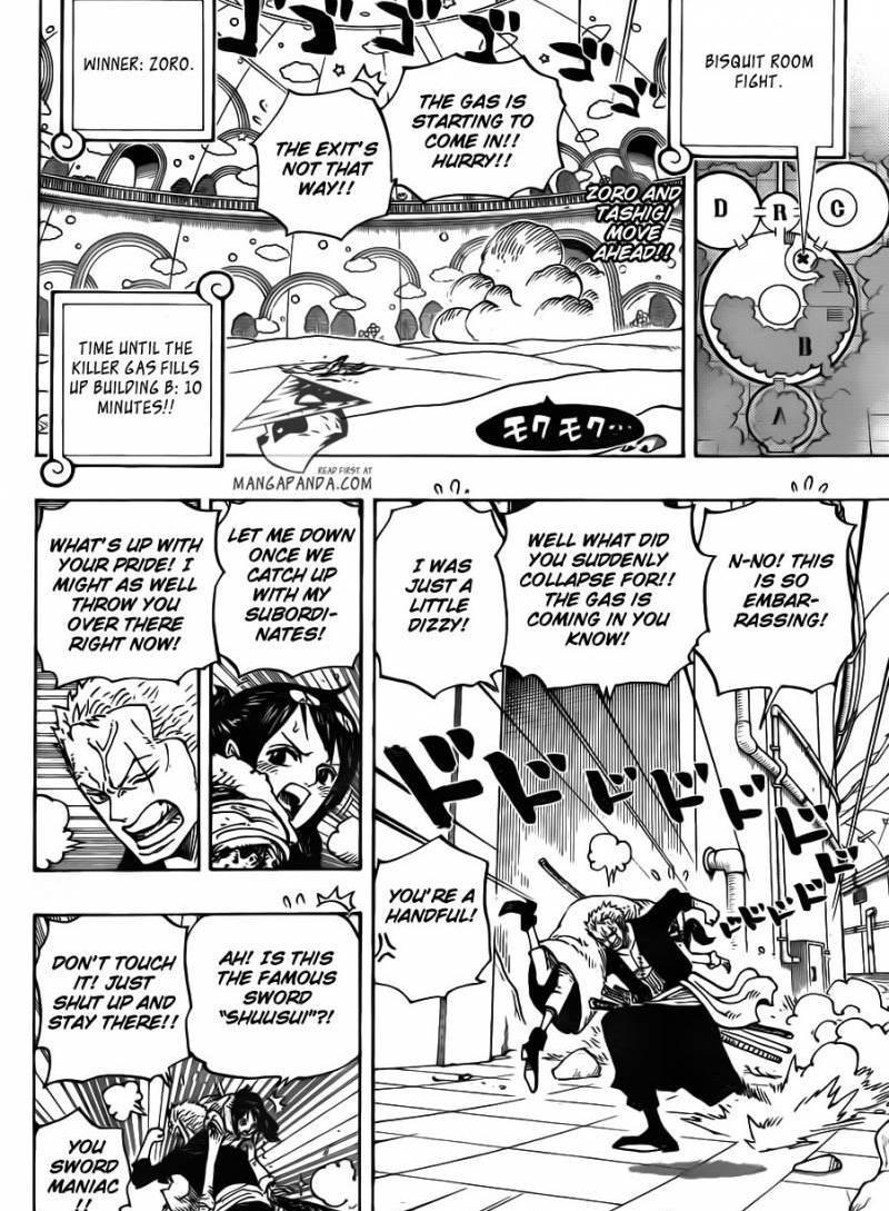 One Piece Ch 688: Mocha