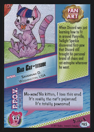 MLP Bad Cat-titude Series 4 Trading Card