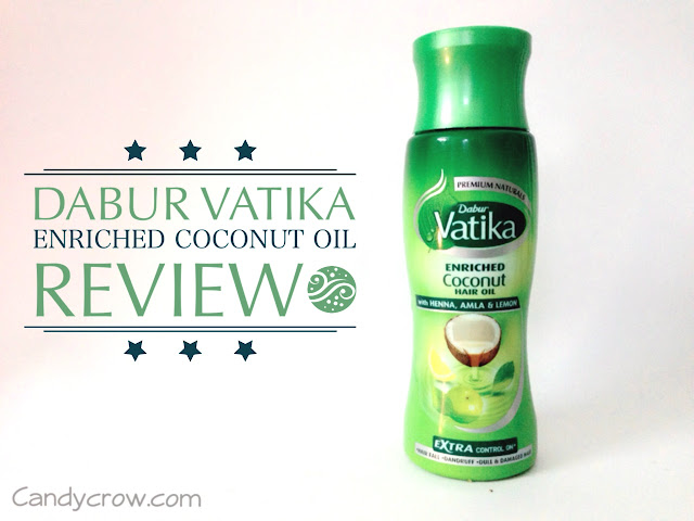Dabur Vatika Enriched Coconut Hair Oil Review