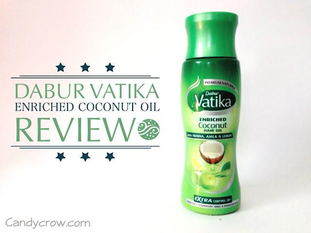 Dabur Vatika Enriched Coconut Hair Oil Review