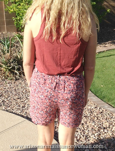 Free People Layla Floral Print Shorts and Sydney Tank (2) - Trunk Club Review April 2016