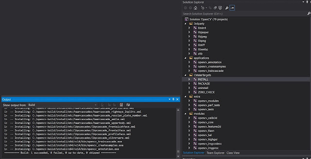 Install opencv Visual Studio 2015