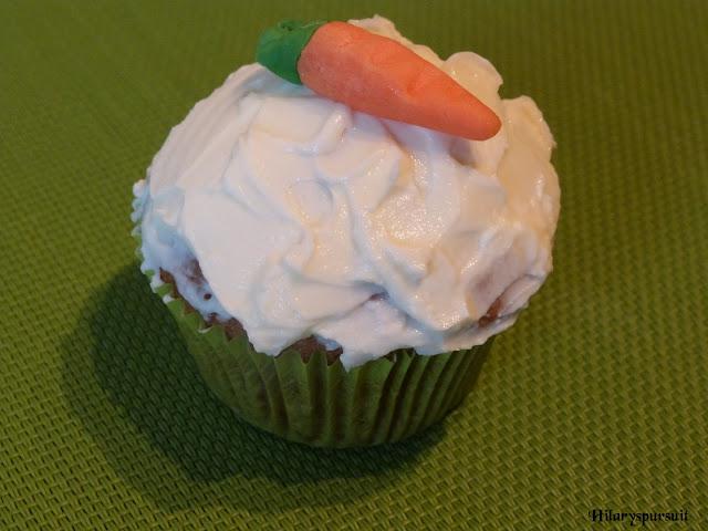Carrot-cake cupcake