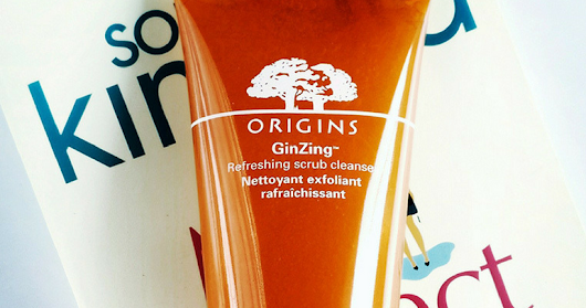 Origins GinZing Refreshing Scrub Cleanser Review