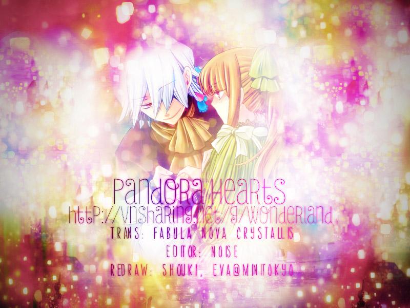 Pandora Hearts chương 077 - retrace: lxxvii vacant trang 1
