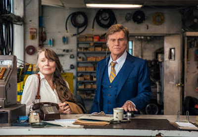 The Old Man and the Gun 2018 movie still Robert Redford Sissy Spacek