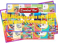 Buku Pegangan guru dan siswa kelas 6 semester 1 dan 2 SD/MI Kurikulum 2013