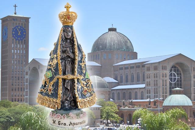 Querida Padroeira Do Brasil Abenç Frases Nossa Senhora: A HISTÓRIA DE NOSSA SENHORA APARECIDA