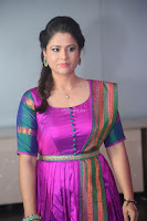 Shilpa Chakravarthy in Purple tight Ethnic Dress ~  Exclusive Celebrities Galleries 038.JPG
