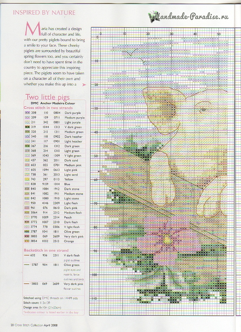 Cross Stitch collection 156. Схемы вышивки крестом