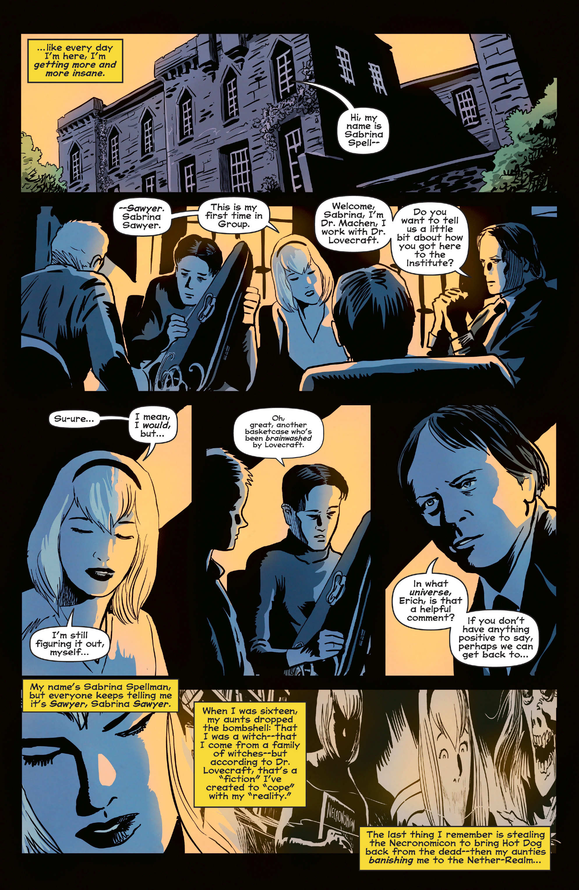 Read online Afterlife with Archie comic -  Issue #6 - 10