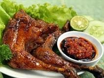resep membuat ayam bakar spesial bumbu rujak enak